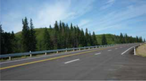 Completed Project on Highway